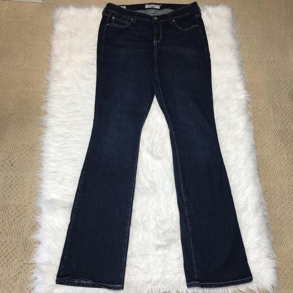Torrid Slim Bootcut Jeans 10 Xtra Tall Inseam 36
